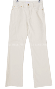 Radius suede Flared trousers