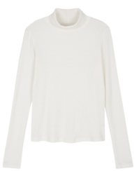 Nef slim turtleneck top