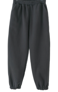 Topping Fleece-lined banding jogger pants