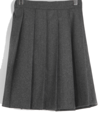 Cullen wool pleated mini skirt 裙子