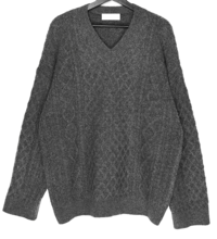 Fisher Wool Twisted V-Neck Knitwear