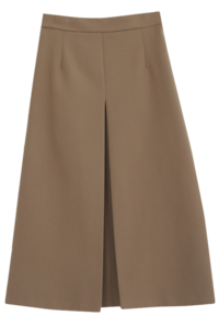 Formula One-Wrinkle Long Skirt