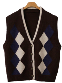 Normal Argyle vest