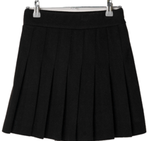 Youth wool pleated skirt trousers