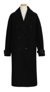 Mook Double Long Wool Coat