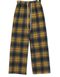 Thicker check banding pants 長褲