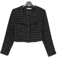 Dory Hound tweed cropped jacket