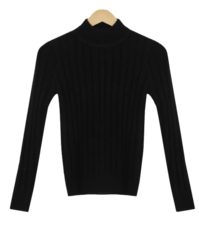 Maing Turtle Ribbed Knitwear