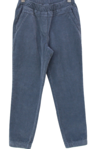 Corduroy Fleece-lined jogger pants