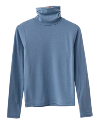 Winter Basic Fleece-lined Turtleneck