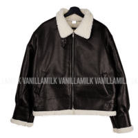 Langdon Leather Wool Shearling