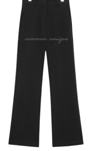 High Waist Fleece-Lined Slacks