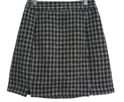 Rachel checked skirt