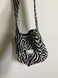 Mini zebra cylinder shoulder bag ショルダーバッグ