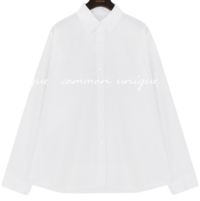 Basic Cotton Button-Down Shirt