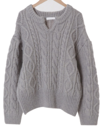 Chloe Cable Alpha Knit