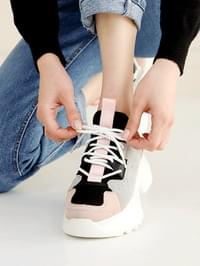 Maetz Leather Ugly Sneakers 5cm
