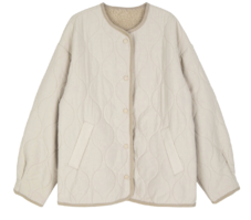 Kaven quilted button-up jacket