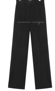 LIKAS 2 BUTTON STRAIGHT SLACKS