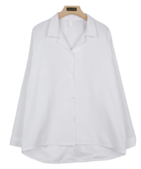 Sophie open collar shirt