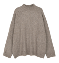 Weal half turtleneck knit