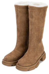 Tempo shearling walker boots