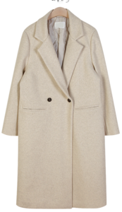 Brand long coat ♥ quilted lining
