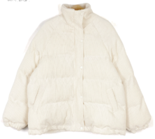 Corduroy fur collar padding-3color