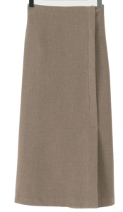 Haze slit long skirt