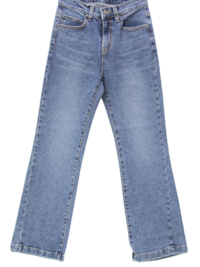 Wipe banhayi semi Flared jeans