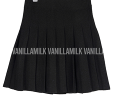 Sally-knit tennis skirt