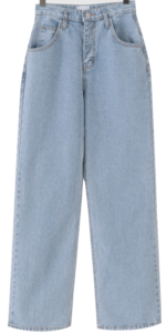 Windy Wide Date Denim Pants
