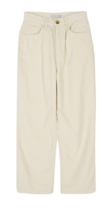 Forty corduroy straight trousers