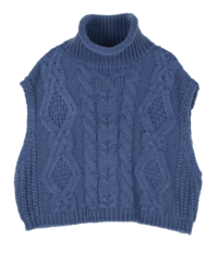 Amber turtleneck knit vest 針織衫