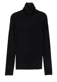 Mentor warmer Fleece-lined turtleneck top