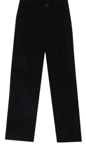 Mandy corduroy pintuck wide pants