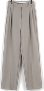 Blend pintuck wide slacks