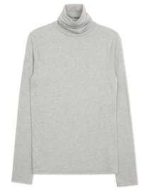 Supple angora yeori Turtleneck T-shirt