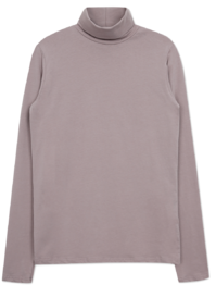 Simple Slim Span Turtleneck T-shirt