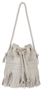 Gary fringed folding shoulder bag