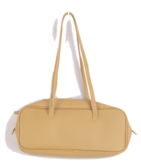 Rib square shoulder bag
