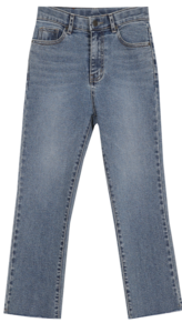 + Raised version added ♥ Lycra semi-boot cut pants (ver. Secret banding / Lycra fabric)
