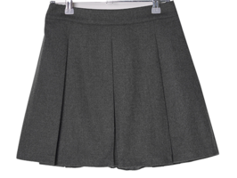 Bundle Banded Wool Pleated Skirt
