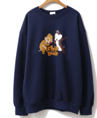 Chip and Dale Fleece-lined Sweatshirt