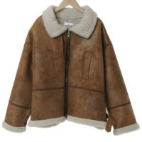 Plump Overfit Dumble Shearling
