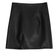 Float Im Leather Skirt
