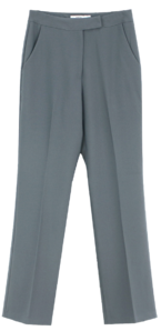 Modern Basic Slacks; Blue Gray 長褲