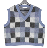 Board Check V-Neck Vest