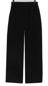Steady Fleece-lined wide pants