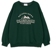 Mountain Fleece-lined crew neck sweatshirt